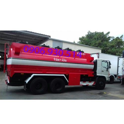 xe bồn xăng dầu hino 19 khối