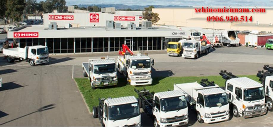 đại lý xe tải hino tại gia lai