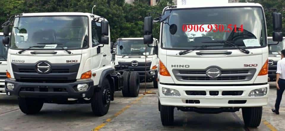 Đại lý xe tải hino tại cần thơ