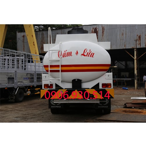 xe bồn chở xăng dầu hino 18 khối