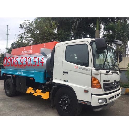 xe bồn chở xăng dầu hino 11 khối