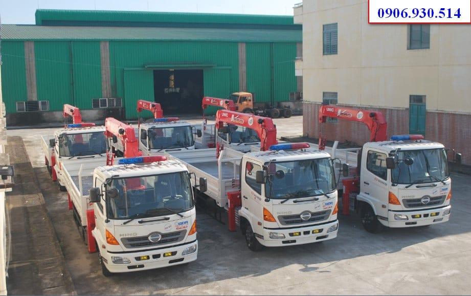 Bán xe tải cẩu đã qua sử dụng