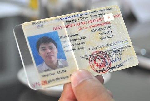 Địa điểm đổi giáy phép lái xe tại tphcm